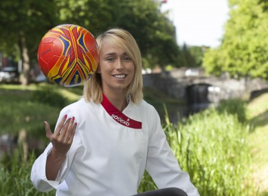 Roche was speaking in Dublin today as she was unveiled as a health and wellbeing ambassador for Sodexo Ireland.