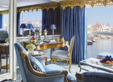 PHOTOS Step Inside One Of The Worlds Most Luxurious River Cruise - The inside of a cruise ship
