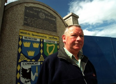 Jimmy Doyle pictured outside Semple Stadium in Thurles.