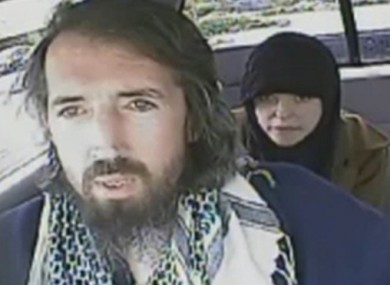 John Nuttall and Amanda Korody in a Royal Canadian Mounted Police surveillance video