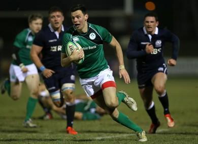 D'Arcy was Ireland Club XV captain.