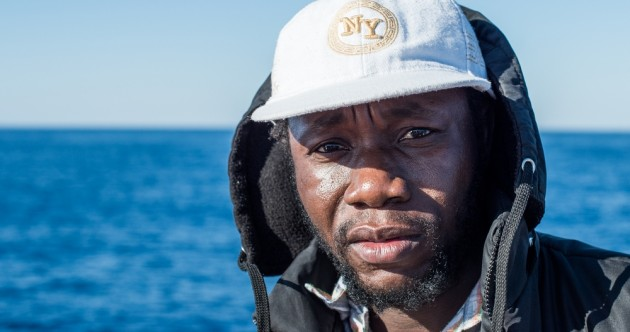 """I was aware that I could have easily died at sea. But I had to leave, I had no choice."""