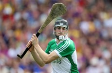 Good news on the injury front for the Limerick hurlers tonight