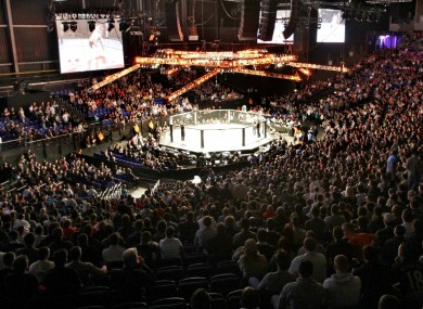 The 3Arena has hosted the UFC twice in the past.