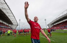 Munster and IRFU confirm a post-World Cup departure for Paul O'Connell