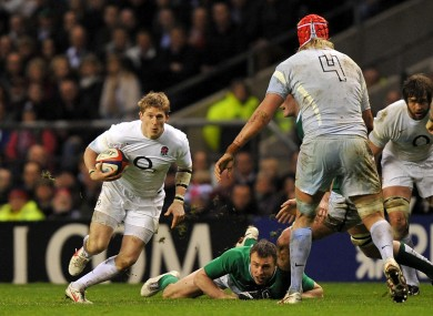 Strettle, in action against Ireland in 2012.
