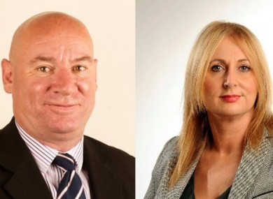 Kieran McCarthy was expelled and Melissa Mullane was suspended from Sinn Féin earlier this week
