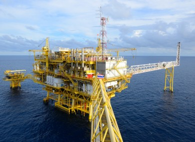 File photo of an offshore oil rig.