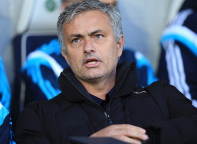 Mourinho was caught doing 60 in a 50mph zone.