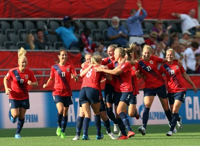 The Norwegian women's team have examined sexist attitudes towards their sport.