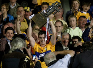 Tony Kelly captained Clare to Bord Gais Energy All-Ireland U21 hurling glory last year.