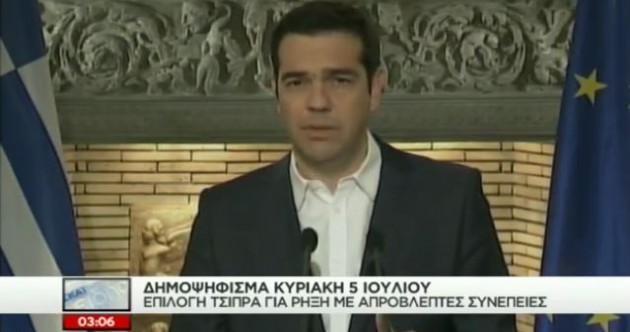 """""""Let the people decide"""" – Greece will hold referendum on bailout deal"""