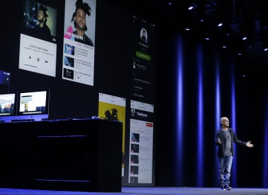 Jimmy Iovine speaking about Apple Music at WWDC in San Francisco last month.