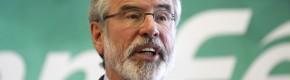 Sinn Féin say Gerry Adams' house targeted by bomb threat