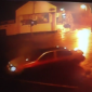 This Clones car was caught on camera smashing into traffic lights last night