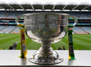The Sam Maguire is the big prize in September