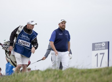 Lowry shot 71 on Sunday and finished in a tie for 31st.
