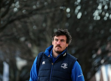 Douglas was released early from his Leinster contract.