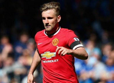 Luke Shaw is the one to watch this season according to his boss.