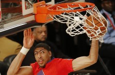 This dunk machine is the proud new owner of a record $145 million, 5-year NBA contract