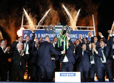 The Six Nations is likely to be shared by BBC and ITV.