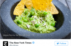 The New York Times suggested making guacamole with peas and the internet exploded