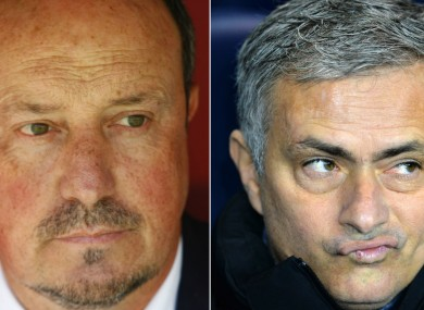 Rafael Benitez and Jose Mourinho continue their war of words.
