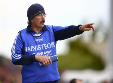 Laois manager Seamus Plunkett has experienced mixed fortunes in recent weeks.