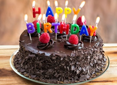 You can be really lazy now when wishing someone a happy birthday on