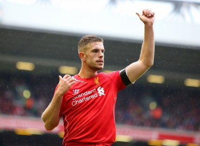 Henderson has been campaigning to be the face of Fifa UK 16.