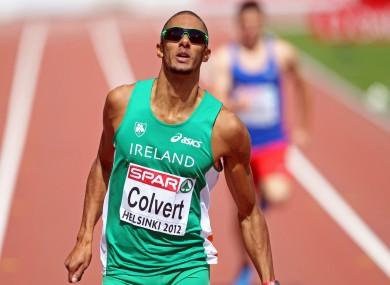 Steven Colvert during the 2012 European Athletics Championships.