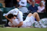 Andy Murray needed a cuddle with the trainer to get the better of Andreas Seppi