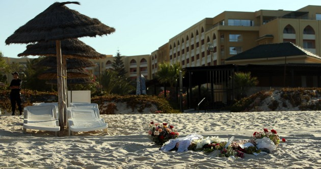 "Irishman caught in Tunisia attack: ""Your instinct just tells you to run, run, run"""