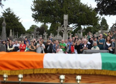 Sinn Féin's re-enactment of O'Donovan Rossa's funeral earlier this month