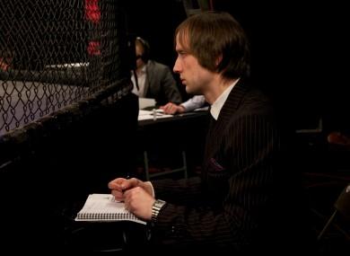Mixed martial arts judge Ben Cartlidge.