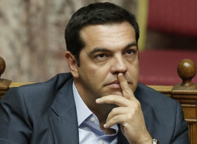 Alexis Tsipras has much thinking to do.