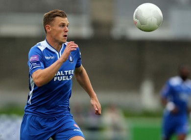 Ian Turner was on target for Limerick tonight.