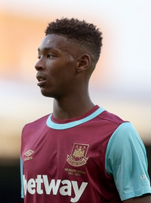 Reece Oxford starts for West Ham against Arsenal today.