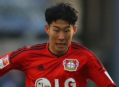 Son Heung-min has signed for Tottenham.