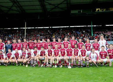 The Bishopstown squad pictured before the 2012 Cork senior hurling final.