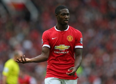 The England U21 international signed a new contract with United earlier this year.