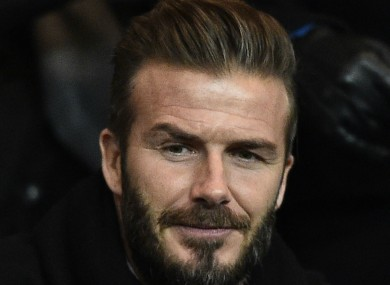David Beckham I Was Never Worldclass The - Beckham hairstyle ferguson