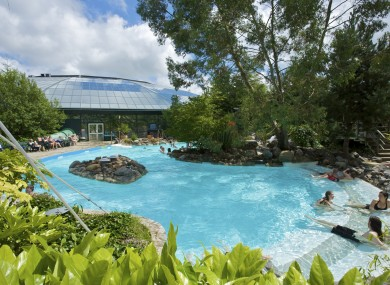 Center Parcs' 'subtropical swimming paradise'