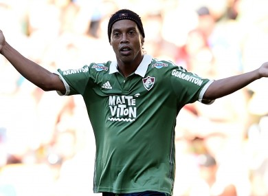 Ronaldinho has left Fluminense less than three months into his contract with the club.