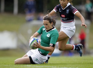 Hannah Tyrrell was a late convert to rugby before helping Ireland to the Six Nations title.