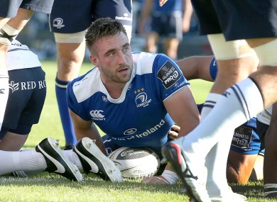 Jack Conan set Leinster on their way in the first-half.
