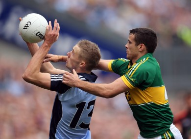 Paul Mannion in action against Kerry in the 2013 All-Ireland semi-final.