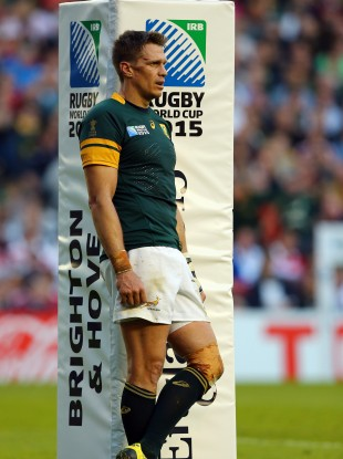Captain Jean de Villiers is one of the survivors from the defeat to Japan.