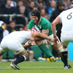 Sean O'Brien certainly wasn't holding back against England.<span class=