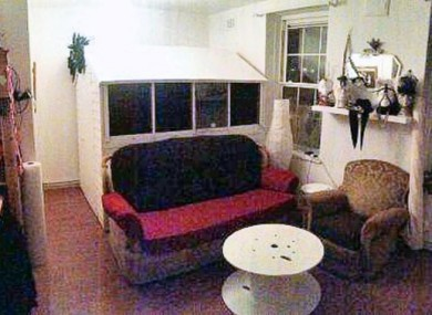 Yes, that's a shed inside a living room.